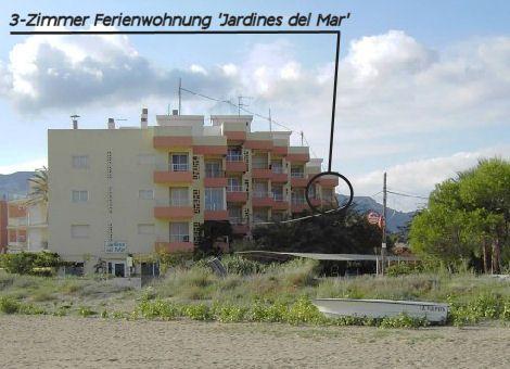 3 Zimmer Ferienwohnung Denia Spanien